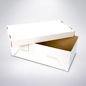 Krabice 349x188x119 bíla