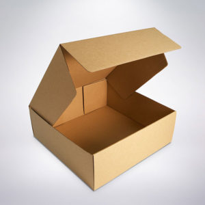 Cukrářská krabice 250x250x80 hnědá
