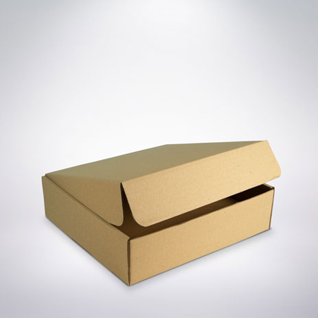 Cukrářská krabice 265x265x75 hnědá