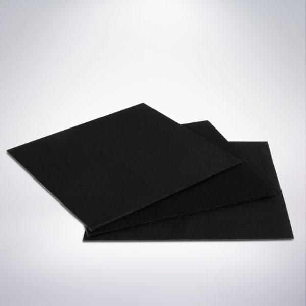 Podložka pod zákusek 10x10 cm černá