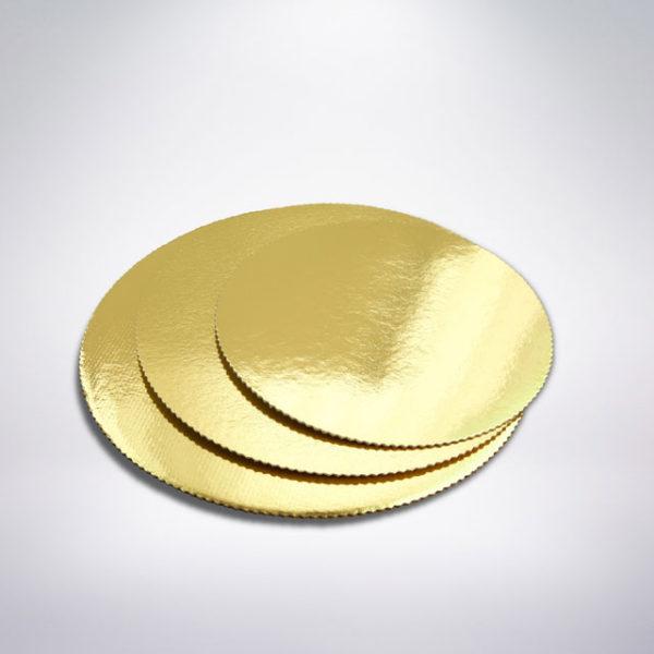 Podnos na dort zlatý
